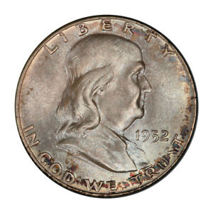 Click now to see the BUY IT NOW Price! 1952 50C FRANKLIN HALF DOLLAR PCGS MS67FBL  CAC  3151 11