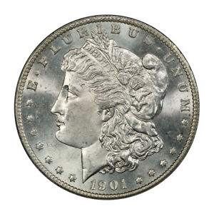Click now to see the BUY IT NOW Price! 1901 S $1 MORGAN DOLLAR PCGS MS65   CAC  3045 26 BLAST WHITE