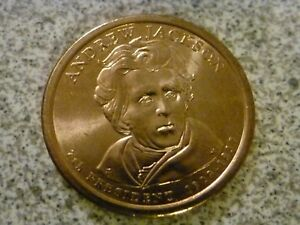 2008 D ANDREW JACKSON 7TH PRESIDENTIAL U.S. ONE DOLLAR COIN