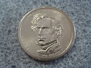 2010 P FRANKLIN PIERCE 14TH PRESIDENTIAL U.S. ONE DOLLAR COIN