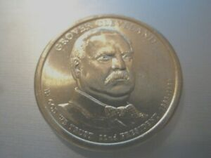 2012 D 22ND GROVER CLEVELAND PRESIDENTIAL U.S. ONE DOLLAR COIN