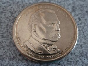 2012 D GROVER CLEVELAND 24TH PRESIDENTIAL U.S. ONE DOLLAR COIN