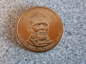 2011 P ULYSSES S GRANT 18TH PRESIDENTIAL U.S. ONE DOLLAR COIN