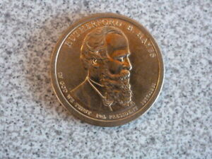 2011 P RUTHERFORD B HAYS 19TH PRESIDENTIAL U.S. ONE DOLLAR COIN