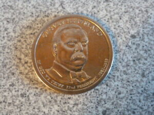 2012 P 22ND GROVER CLEVELAND PRESIDENTIAL U.S. ONE DOLLAR COIN