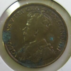 1917 CANADA LARGE PENNY NICE COIN