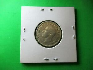 CANADA 25 CENTS 1950 .800 SILVER. VF. SUPERB FOR ALL COLLECTION