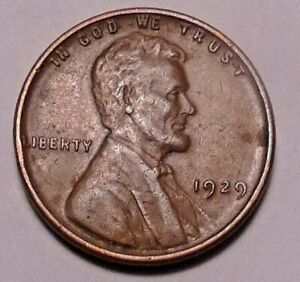 1929 P  LINCOLN WHEAT CENT PENNY   NOT STOCK PHOTOS