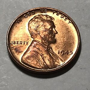 HIGH GRADE 1945 LINCOLN WHEAT CENT.