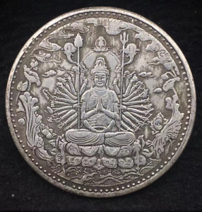 LUCKY CHINESE COIN BUDDHA ANCIENT STYLE UNIQUE FENG SHUI ZODIAC