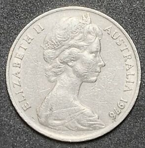 1976 AUSTRALIAN 20 CENT ELIZABETH II SECOND PORTRAIT    936