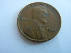 1932 LINCOLN HEAD PENNY. COINS I HAD AS A KID. SEE PICS FOR CONDITION   LOT 32 A