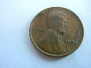 1932 LINCOLN HEAD PENNY. COINS I HAD AS A KID. SEE PICS FOR CONDITION   LOT 32 E