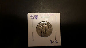 1929 SILVER STANDING LIBERTY QUARTER CIRCULATED NICE COIN    120741