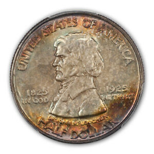 Click now to see the BUY IT NOW Price! VANCOUVER 1925 50C SILVER COMMEMORATIVE PCGS MS67