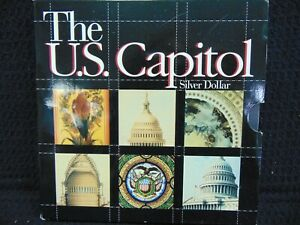 THE U.S CAPITOL SILVER DOLLAR 1994 PROOF COIN