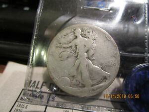 1923 S WALKING LIBERTY HALF  G