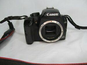 CANON EOS 1000D 10.1 MP DIGITAL SLR CAMERA IN BLACK