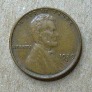1929 D LINCOLN WHEAT CENT IN XF CONDITION    NICE EYE APPEAL