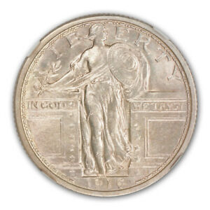 Click now to see the BUY IT NOW Price! 1916 25C STANDING LIBERTY QUARTER NGC MS64 FH