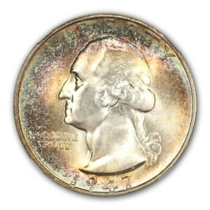 Click now to see the BUY IT NOW Price! 1947 S WASHINGTON QUARTER 25C NGC MS68