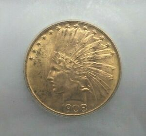 Click now to see the BUY IT NOW Price! 1908 P NO MOTTO $10 GOLD INDIAN HEAD EAGLE   ICG MS64 V180