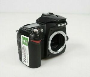 NIKON D90 DIGITAL SLR CAMERA BODY PARTS REPAIR BROKEN FLASH NO BATTERY LENS