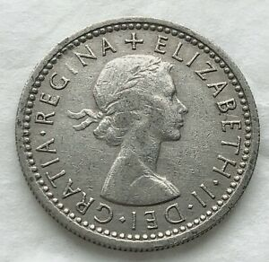 1963 GREAT BRITAIN SIXPENCE 6P COIN WEDDING BIRTHDAY