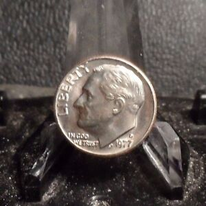 UNCIRCULATED 1977D FDR DIME  100216 2
