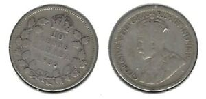 CANADIAN 1936 DIME .800 SILVER COIN .. TAKE A LOOK