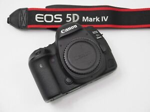 CANON EOS 5D MARK IV 30.4MP DSLR CAMERA   BLACK   U.S MODEL   11K SHUTTER ONLY