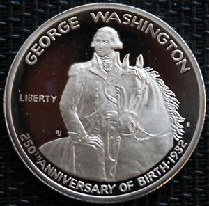 USA HALF DOLLAR GEORGE WASHINGTON 1982 SILVER