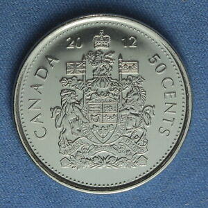 CANADA 2012 HALF DOLLAR  50 CENTS  FROM A MINT ROLL