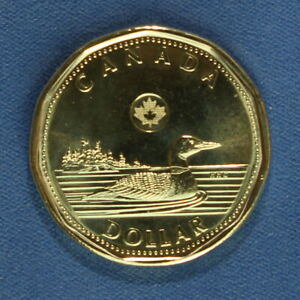 CANADA 2015 LOONIE  ONE DOLLAR  FROM A MINT ROLL