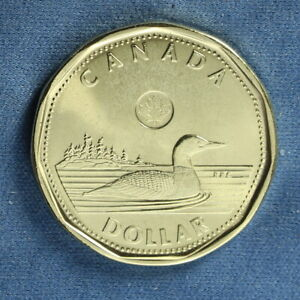 CANADA 2017 LOONIE  ONE DOLLAR  FROM A MINT ROLL   FROM MINT CLASSIC ROLL SET