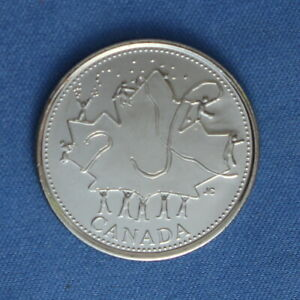 CANADA 2002 CANADA DAY QUARTER  25 CENTS  FROM A MINT ROLL