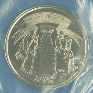CANADA 2017 STANLEY CUP ANNIVERSARY QUARTER    BUSINESS STRIKE FROM MINT PACK