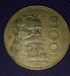 1988  M $100 MEXICAN COIN CIRCULATED