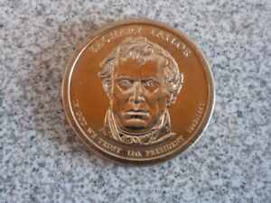 2009 P ZACHARY TAYLOR 12TH PRESIDENTIAL U.S. ONE DOLLAR COIN