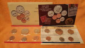 1990 US MINT SET   PHILADELPHIA & DENVER