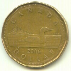 CANADA 2006 LOONIE CANADIAN ONE DOLLAR COIN EXACT COIN SHOWN