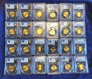 Click now to see the BUY IT NOW Price! PCGS MS66 MS67 PR69 DCAM 60 COIN SET PRESIDENTIAL DOLLARS FIRST DAY OF ISSUE