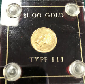 1856 $1 GOLD COIN TYPE III