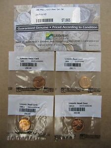 1955 PPDS LINCOLN WHEAT CENT SET  9449 CENT OS