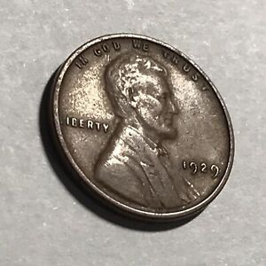 1929 LINCOLN WHEAT CENT.