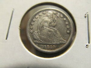 AU 1840 O SEATED DIME   TOUGH TO FIND IN HIGH GRADE    MAJQ