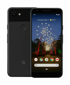 GOOGLE PIXEL 3A   64GB   JUST BLACK  FACTORY UNLOCKED FOR ALL CARRIERS  G020G