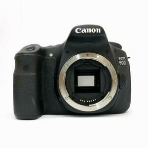 CANON EOS 60D 18.0MP DIGITAL SLR CAMERA BODY ONLY EXCELLENT FROM JAPAN F/S