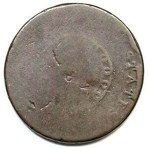 1793 S 1 R 4 TDS AMERI CHAIN LARGE CENT COIN 1C