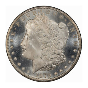 Click now to see the BUY IT NOW Price! 1879 CC $1 MORGAN DOLLAR PCGS MS65 PL  CAC  3204 3 WHITE  POP 4/0 NONE FINER